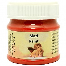 Daily Art Matt Paint 50ml  RED
