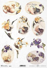 ITD Rice Decoupage Paper  Product Code R1073