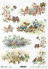 ITD Rice Decoupage Paper  Product Code R1070