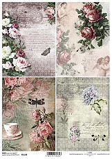 ITD Rice Decoupage Paper  Product Code R1158