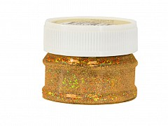 Glitter Powder, GOLD, 25ml bottle
