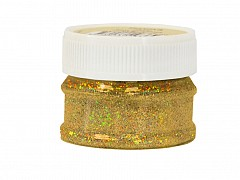 Glitter Powder, RICH GOLD, 25ml bottle
