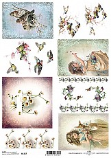ITD Rice Decoupage Paper  Product Code R1337
