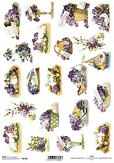 ITD Rice Decoupage Paper  Product Code R1341