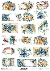 ITD Rice Decoupage Paper  Product Code R1343