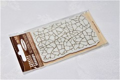 Stamperia Rubber Stamp with Crackle Effect