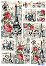 AIST Rice Decoupage Paper, Product Code 21942