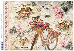 AIST Rice Decoupage Paper, Product Code 21820