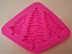 Silicone Cake Mould, TREES