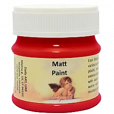 Daily Art Matt Paint 50ml  SCARLET