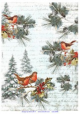 AIST Rice Decoupage Paper, Product Code 21498