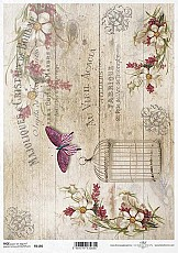 ITD Rice Decoupage Paper  Product Code R1186