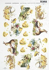 ITD Rice Decoupage Paper  Product Code R303