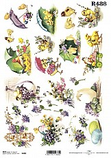 ITD Rice Decoupage Paper  Product Code R488