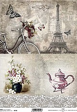 ITD Rice Decoupage Paper  Product Code R728