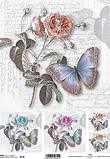 ITD Rice Decoupage Paper  Product Code R738