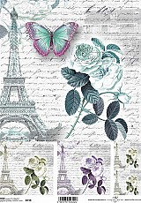 ITD Rice Decoupage Paper  Product Code R739