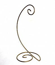 Metal Spiral Stand, Gold