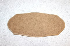 MDF Plaque, Product code 003