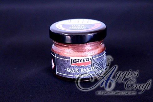 Pentart Metallic Wax Paste, COPPER, 20ml
