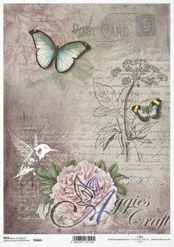ITD Rice Decoupage Paper  Product Code R1065
