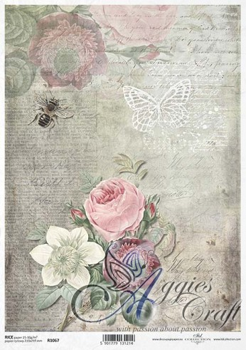 ITD Rice Decoupage Paper  Product Code R1067