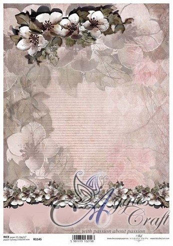 ITD Rice Decoupage Paper  Product Code R1145