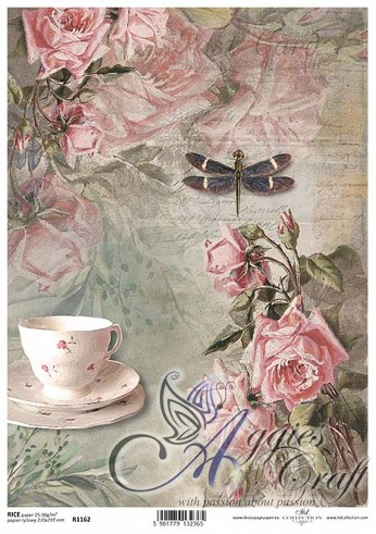 ITD Rice Decoupage Paper  Product Code R1162