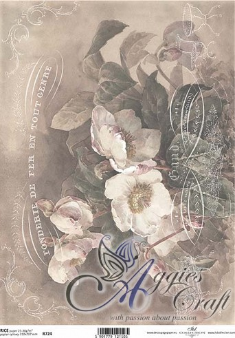 ITD Rice Decoupage Paper  Product Code R724