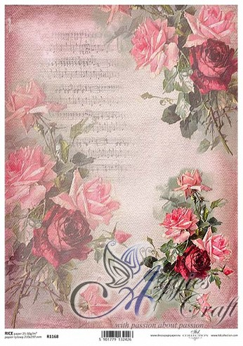 ITD Rice Decoupage Paper  Product Code R1168