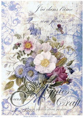AIST Rice Decoupage Paper, Product Code RP721S