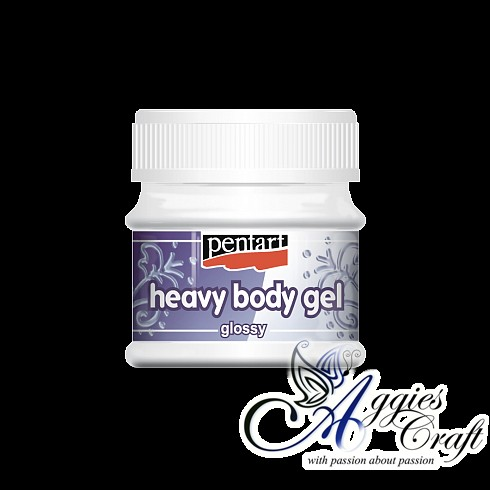 Pentart Heavy Body Gel, 50ml, GLOSS