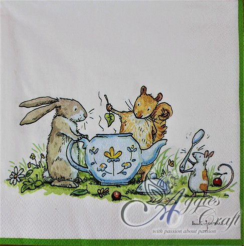 Napkins Lunch 33 x 33cm, Product Code 368