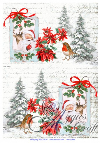 AIST Rice Decoupage Paper, Product Code 21499